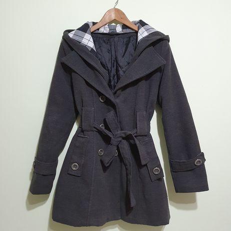 Palton de stofa captusita