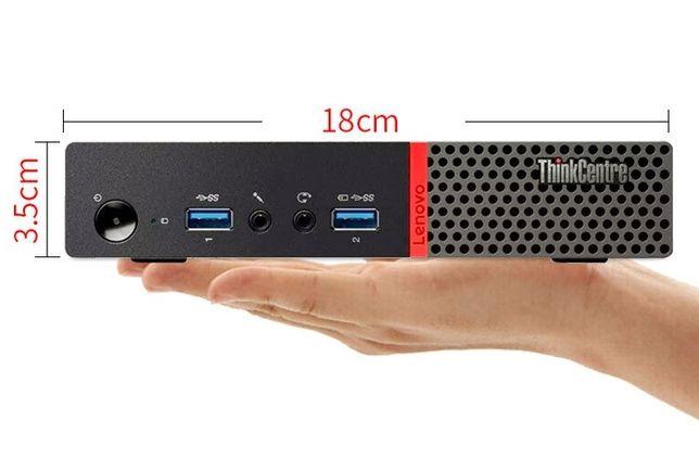 Lenovo ThinkCentre M710q Tiny Mini PC Quad Core i5-7400T 8 GB 256GB