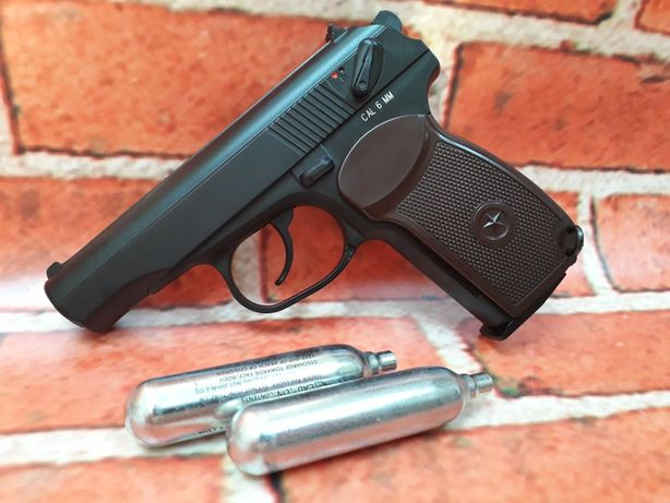 Makarov Full Metal foarte puternic 4.5j pistol airsoft 6mm co2 precis
