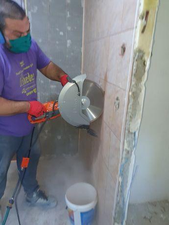 taiat demolat beton decopertari gresie faianta