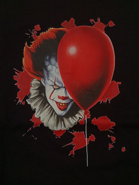 Tricou IT Stephen King / Pennywise / horror