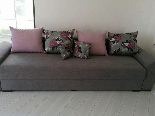 Canapea relaxa extensibila cu toper de memorie