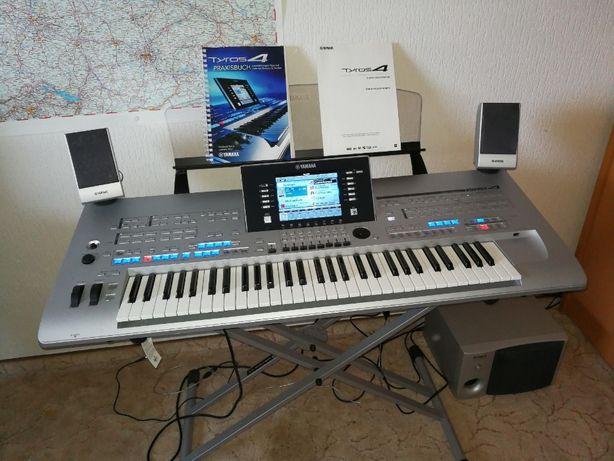 orga Clapa PA Yamaha Tyros 4 + sistem 2.1 TRS-MS04