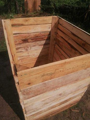 Box paleți(pentru mere sau diverse)