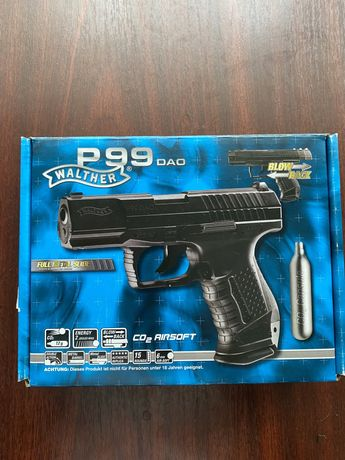 Pistol airsoft walther p99 dao