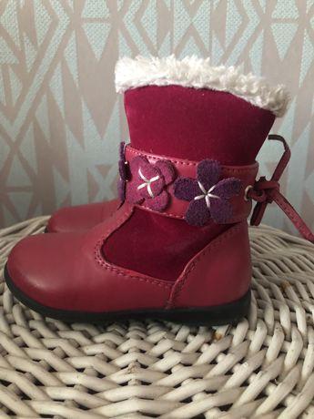 Сапожки ботинки на замочке  на осень