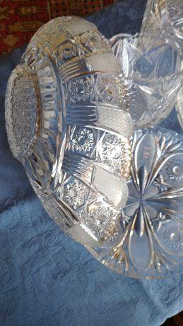 Кристални- фруктиера,купа,ваза