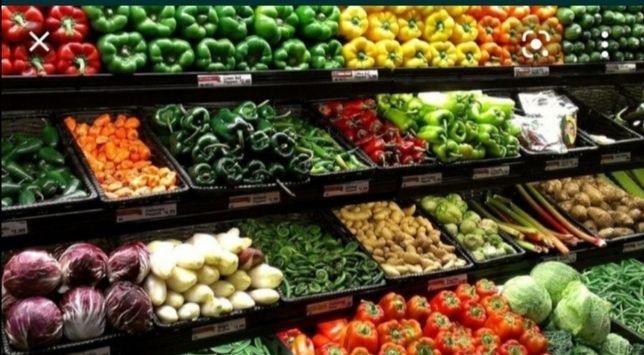 Сдаётся овощной отдел в минимаркете
