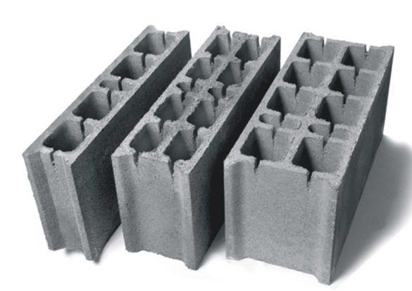Бетонни БЛОКЧЕТА за зидане -КАПАЦИ за ограда от блокчета -ПРОИЗВЕЖДАМ