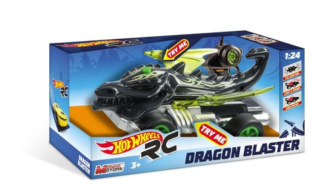 Hot Wheels - Masina RC Dragon 1:24