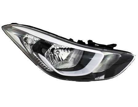 Фара левая и правая на Хюндай Элантра 13 - / Hyundai Elantra 13 -