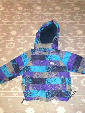 Продам зимнюю куртку на мальчика 86 см