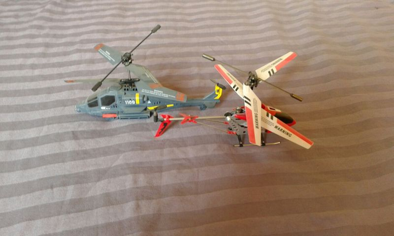 2бр.хеликоптери радиоуправляеми гр. Сливен - image 1