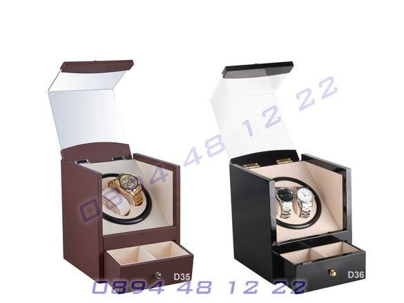 Кутия Автоматични Часовници Навиване Часовник Watch Winder Навивачка