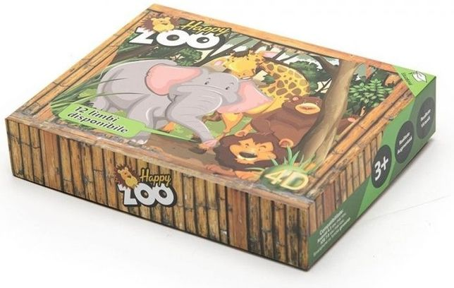 Cadou Ziua Copilului Iepuras Joc interactiv educational AR Happy Zoo