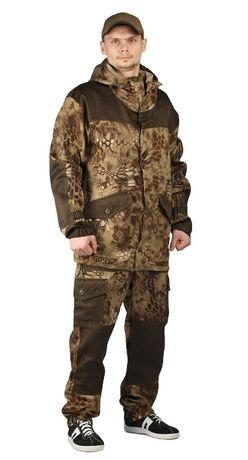 """Костюм ГОРКА-ГОРЕЦ, куртка/брюки, цвет кмф """"Питон коричневый"""", оптом"""