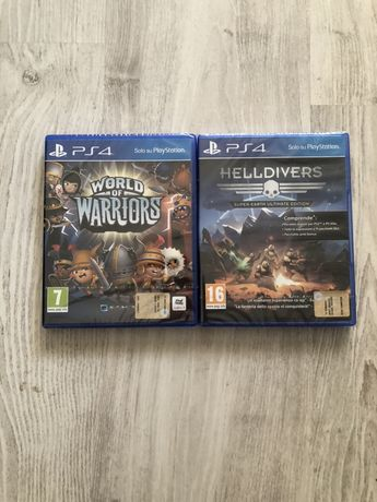 Sigilate World of Warriors joc de copii,  Helldivers ps4 playstation 4