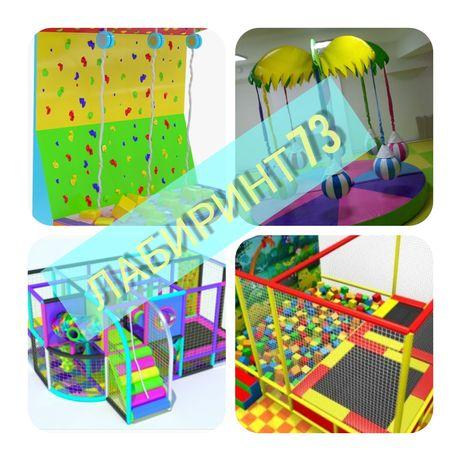 Развлекательные детские игровые площадки. От А до Я.