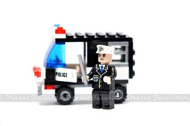 """Set de constructii """"Police-Masina de politie"""""""