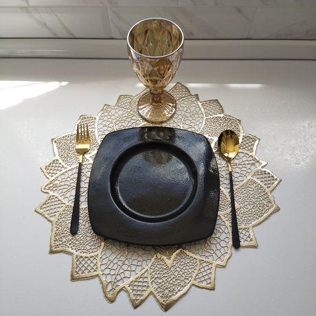 Золотой набор посуды