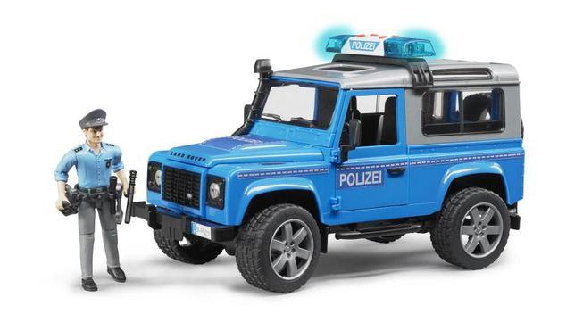Jucarii Bruder 02597 - Masina de Politie, Land Rover Defender