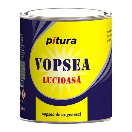 Vopsea alchidica lemn/metal, PITURA, interior/exterior, 4L, div.culori