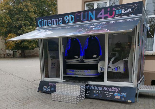 Servicii evenimente cu  Cinema Realitate Virtuala 9D