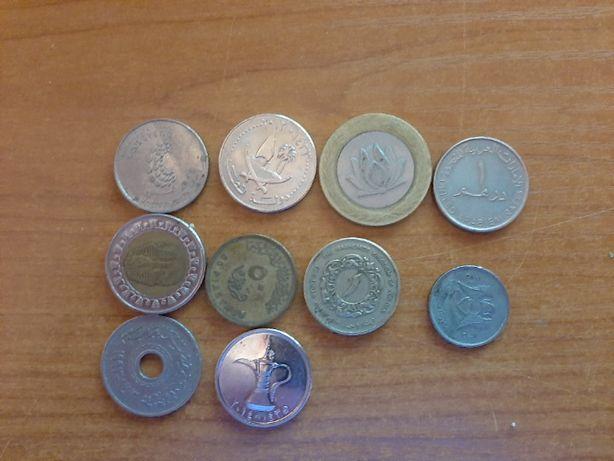 Lot 10 moneda arabe