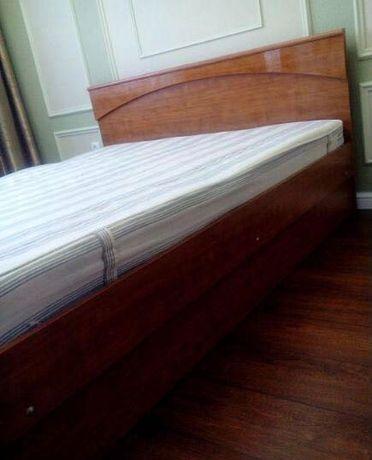 Двуспальный кровать ШАТУРА двухспалка спальный кровать