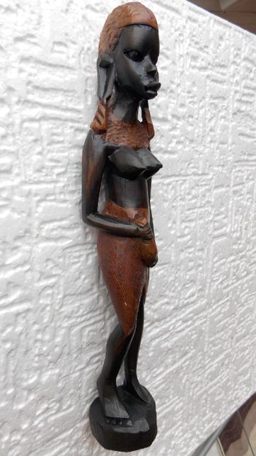 statueta veche unicat arta africana tribala antichitati de colectie