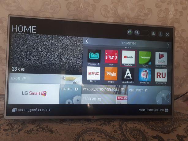 ТВ SMART LG 43д 108см