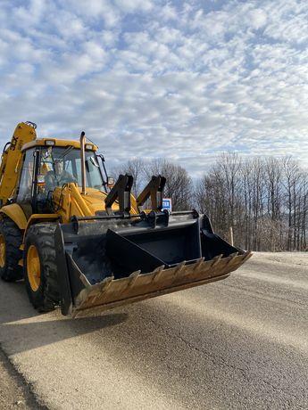 Inchiriez Buldoexcavator 7,5 tone / Excavator / Miniexcavator 3,5 tone