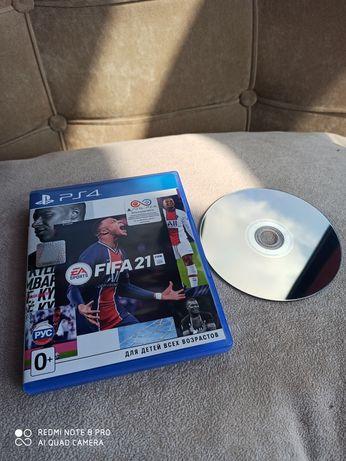 Ps4 Fifa 21 диск лицензионный