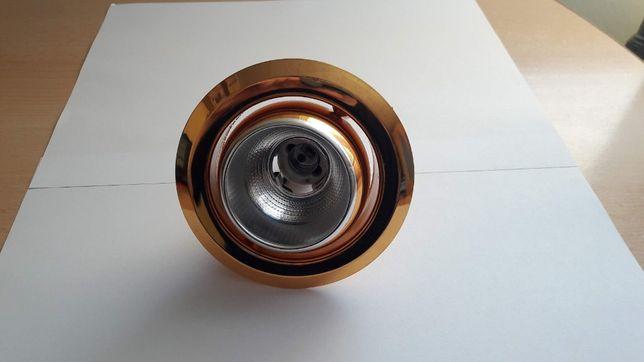 Spot încastrat auriu E14, SET 7 Bucati