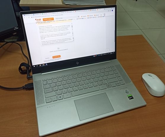 Ноутбук HP Envy 15-ep0025ur