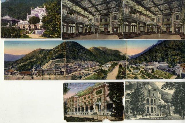 Carti Postale Vederi vechi cu Baile Herculane Romanesti Romania CP