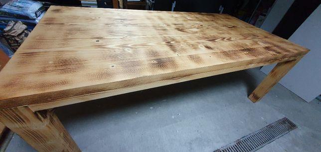 Masa gradina din lemn masiv 2m x 1m x 0.73m
