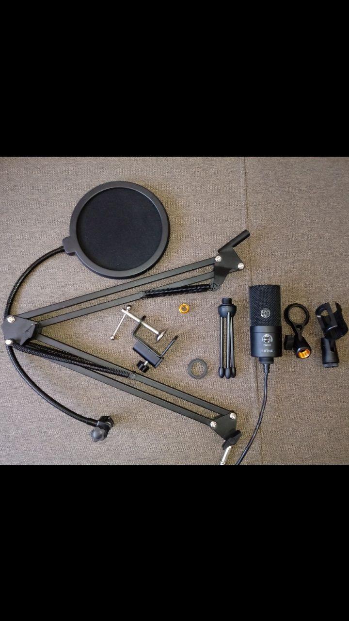 Продам комплект с микрофоном FiFine K669B