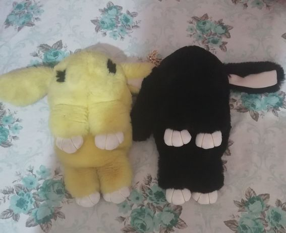 Продам 2 детских рюкзака(зайчик)