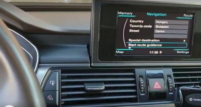 SD Card Harta Audi GPS RMC 2021 A4 A5 A6 A7 Europa Romania A1 A3 Q3