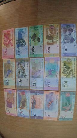 Банкноти от Венецуела, Боливари, UNC