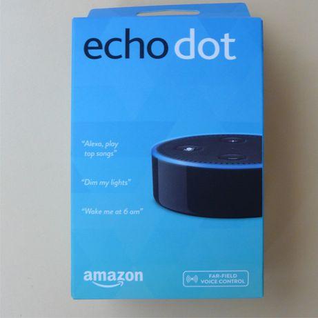 Amazon Echo Dot(2nd Generation)тонколона нова черна