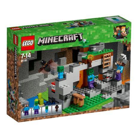 LEGO 21141 Пещера зомби Minecraft новый оригинал !