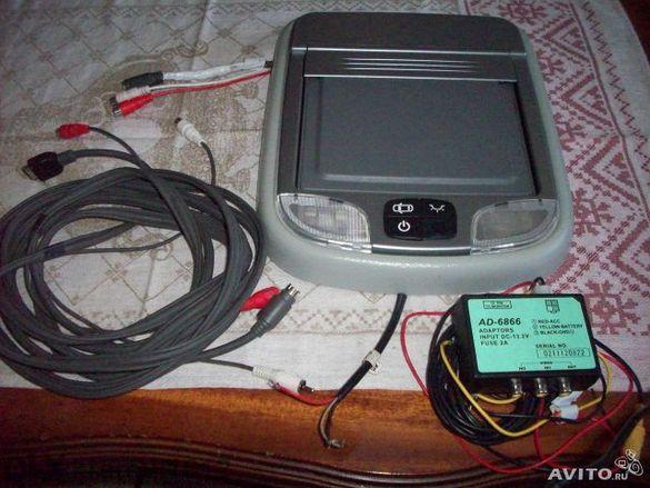 Автотелевизор Necvox Re-7269, 7 Inch View Angle, 16:9, color LCD displ