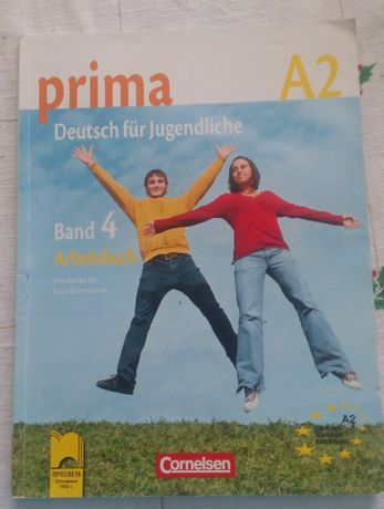 Учебна тетрадка по немски език Prima А2 Band 4