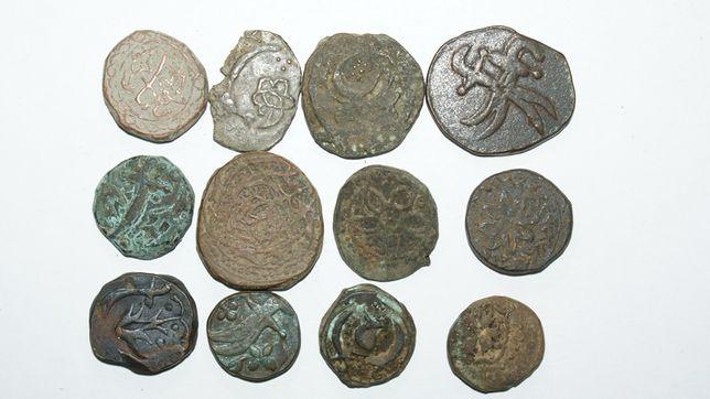 Медная монета Азии