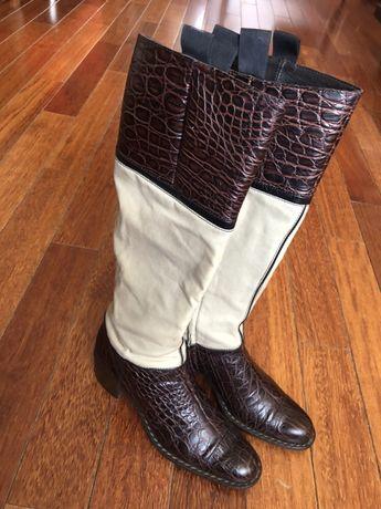 Женские сапоги Roberto Cavalli, размер 37, в отличном состоянии
