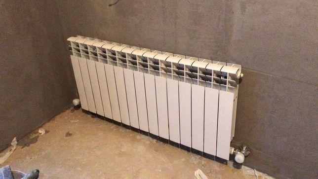 Установка радиатора, отопления,вызов сантехника сантехнические работы