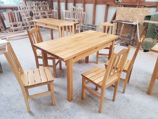 Scaune si mese lemn masiv restaurant (producator)