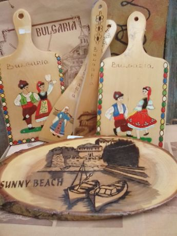 дървени сувенири